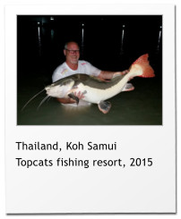 Thailand, Koh Samui Topcats fishing resort, 2015