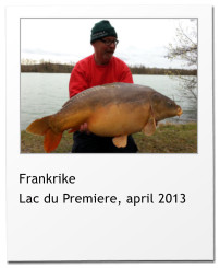 Frankrike Lac du Premiere, april 2013