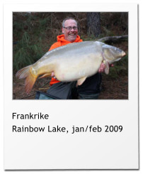Frankrike Rainbow Lake, jan/feb 2009
