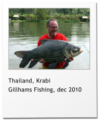 Thailand, Krabi Gillhams Fishing, dec 2010